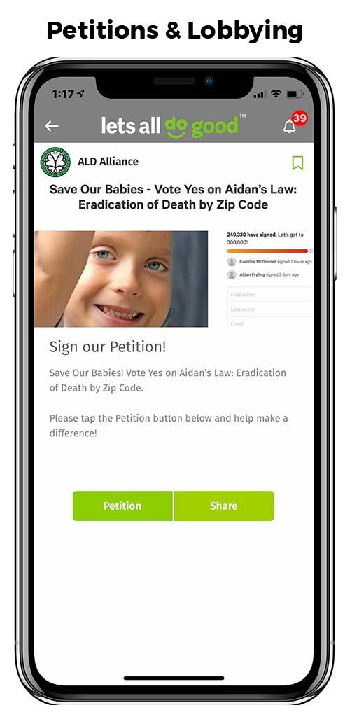 Petitions & Lobbying