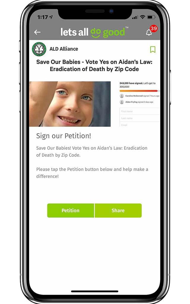 petitions lobbying