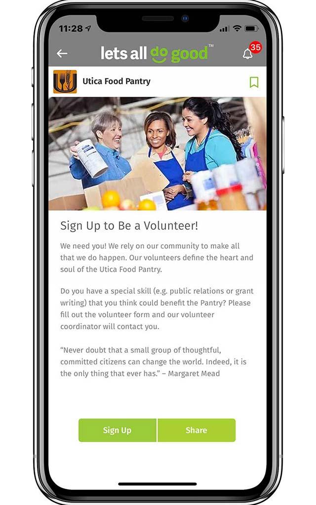 volunteer communications